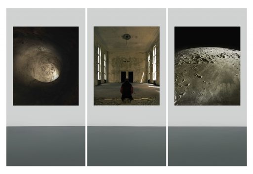"""""""avim 18"""", 2019, Digitaldruck auf Polystyrol, 3 x 200 x 100 cm"""