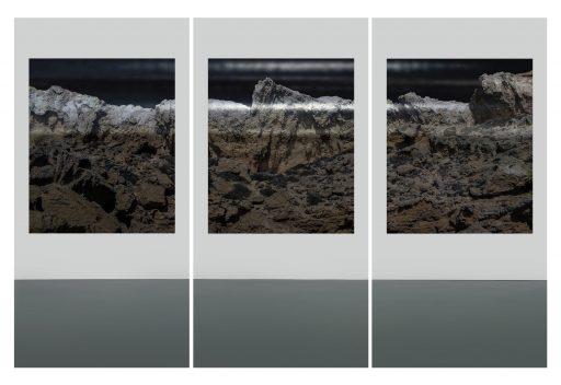 """""""avim 53"""", 2019, Digitaldruck auf Polystyrol, 3 x 200 x 100 cm"""