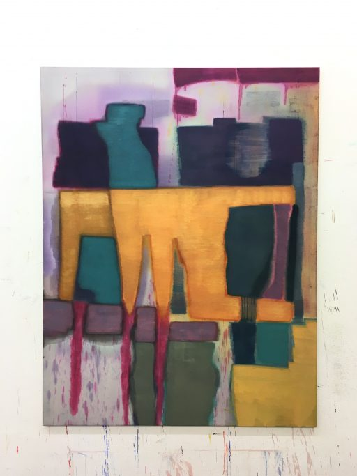 """Monsterpainting (M)"", 2020, Öl auf Leinwand, 190 x 146 cm"