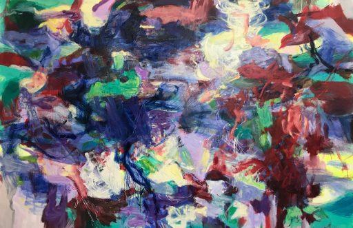"""Dorian"", 2019, Öl auf Nessel, 180 x 280 cm"