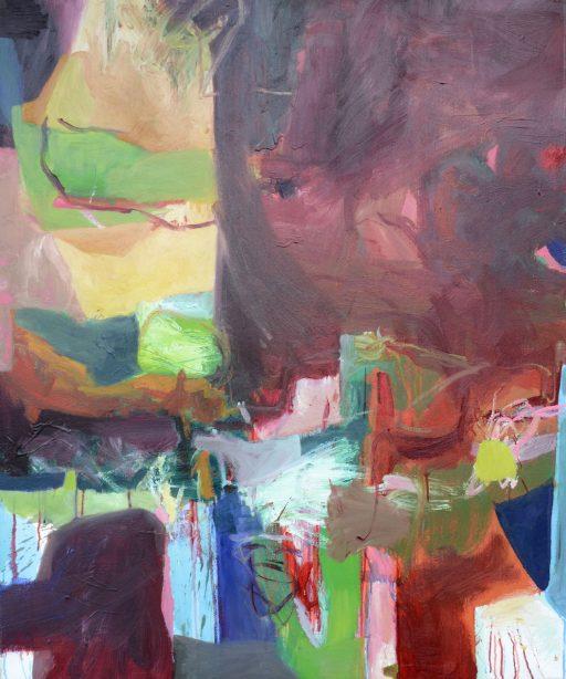 """""""Pompös"""", 2020, Öl auf Leinen, 130 x 110 cm"""