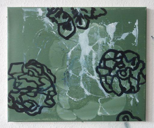 """magis 3"", 2019,  Öl auf Leinwand, 50 x 60 cm"