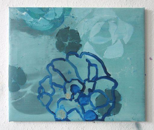 """magis 7"", 2019, Öl auf Leinwand, 50 x 60 cm"
